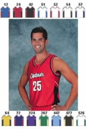 1472 BASKETBALL JERSEY - Product Image