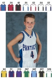 1462 YOUTH BASKETBALL JERSEY - Product Image
