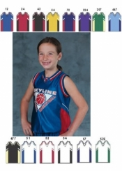 1463 GIRLS BASKETBALL JERSEY - Product Image