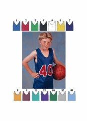 1415 YOUTH BASKETBALL JERSEY - Product Image