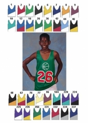 1414 YOUTH REVERSIBLE BASKETBALL JERSEY - Product Image