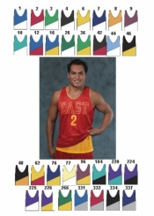 1424 ADULT REVERSIBLE BASKETBALL JERSEY - Product Image