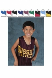 1480 YOUTH REVERSIBLE WIDE SHOULDER JERSEY - Product Image