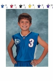 1468 YOUTH MIX AND MATCH SERIES DELUXE CAP SLEEVE BASKETBALL JERSEY - Product Image