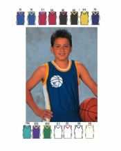 1419 YOUTH SHADOW SERIES DELUXE BASKETBALL JERSEY - Product Image