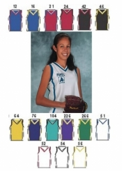 1410 GIRLS SHADOW SERIES DELUXE BASKETBALL JERSEY - Product Image