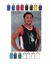 1453 ADULT SHADOW SERIES DELUXE BASKETBALL JERSEY - Product Image
