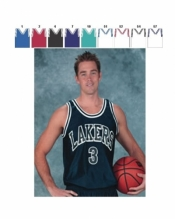 1426 ADULT BASKETBALL JERSEY - Product Image
