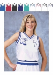 1446 WOMENS BASKETBALL JERSEY - Product Image