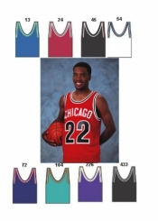 1452 MAJOR TEAM COLORS BASKETBALL JERSEY - Product Image