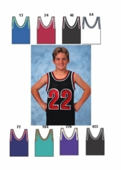 1412 YOUTH MAJOR TEAM COLORS BASKETBALL JERSEY - Product Image