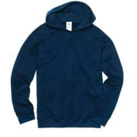 HOODED SWEATSHIRT: 4 COLORS INK - Product Image
